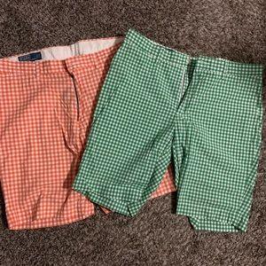 Men's Ralph Lauren Polo shorts. Size 35